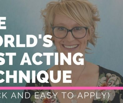 The World's Best Acting Technique